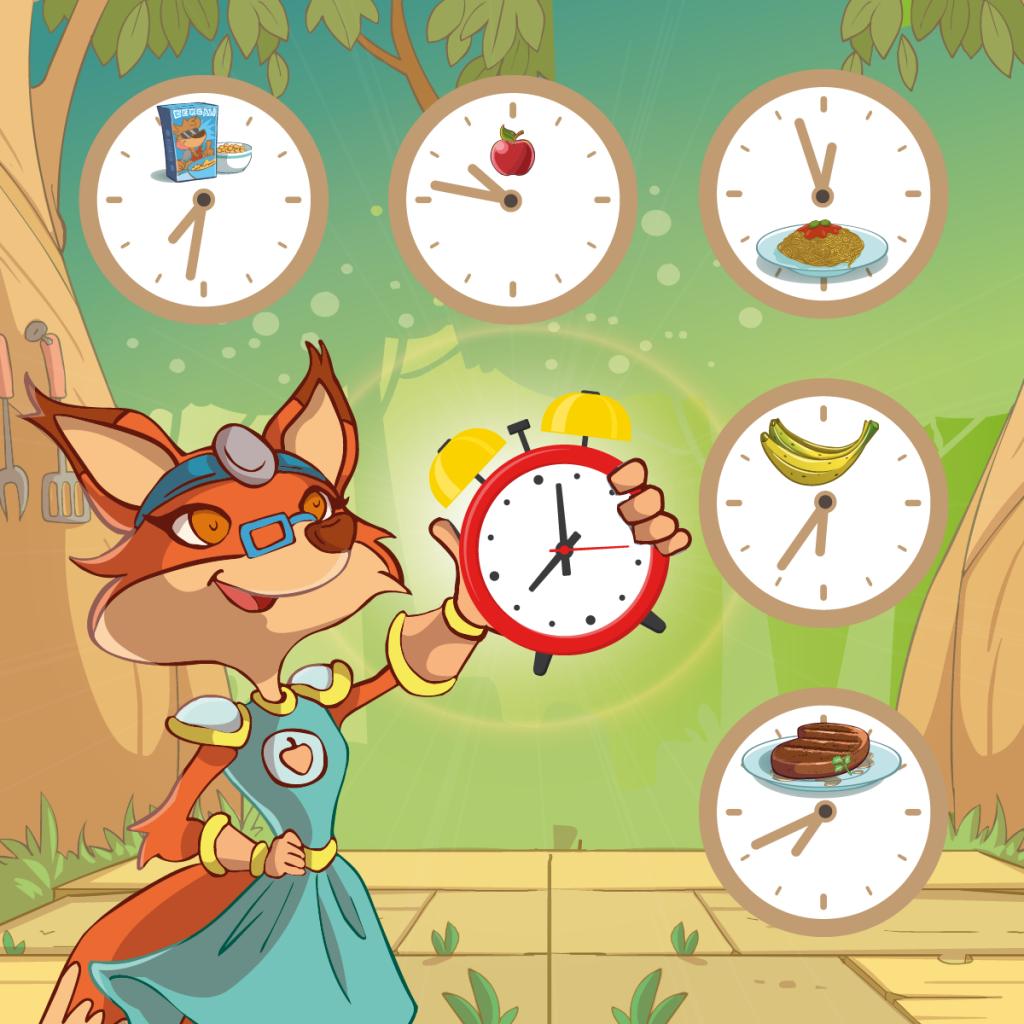 L'orario dei pasti, un orologio da rispettare.