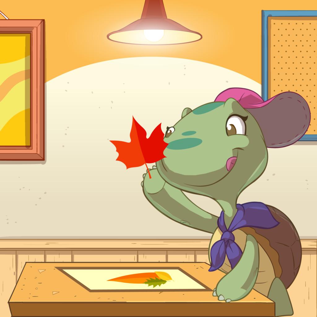 Benvenuto autunno: disegniamo con le foglie!